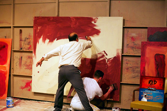 Red: Inside Rothko's studio/mind