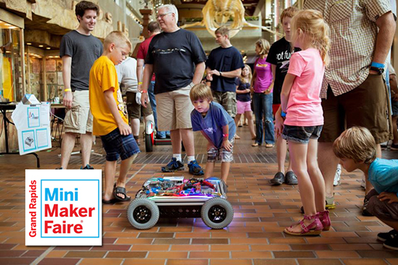 Grand Rapids Mini Maker Faire: Hands on STEAM education