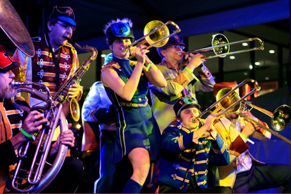 Mucca Pazza: Don't call them just a marching band