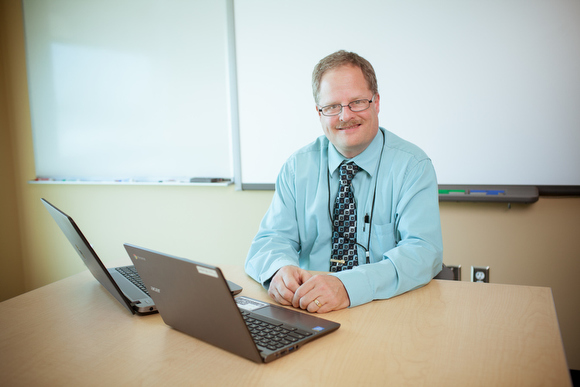 Paul Mulder, director of technology for Allendale Public Schools.