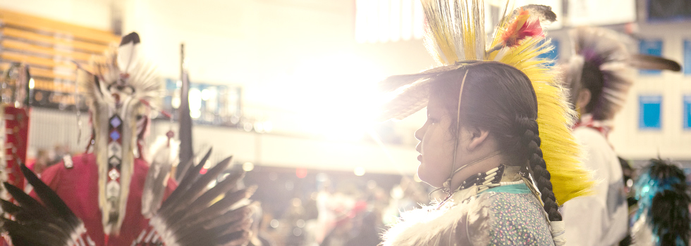 Celebrating All Walks of Life Traditional Pow Wow at GVSU.