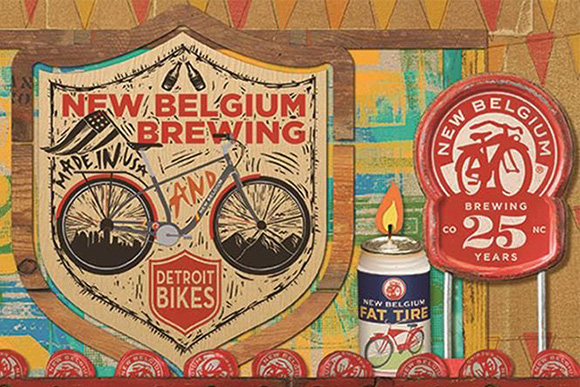 New Belgium Brewing's Clips Beer & Film Tour: Beautiful B-Corp projecting goodness & good business