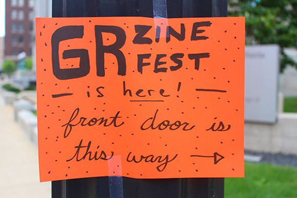 Grand Rapids Zine Fest: Beautiful words in a DIY style