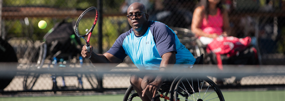 The 2016 Midwest Wheelchair Tennis Championship in Grand Rapids.