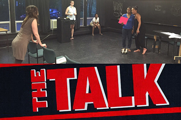 Mixed Roots Collective's THE TALK: Art helps us understand race, family