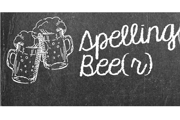 Spelling Bee(r): Adult fun with consonants and vowels