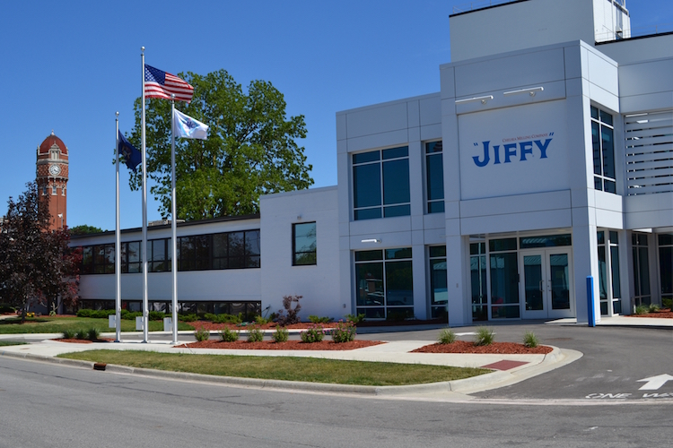 JIFFY's offices