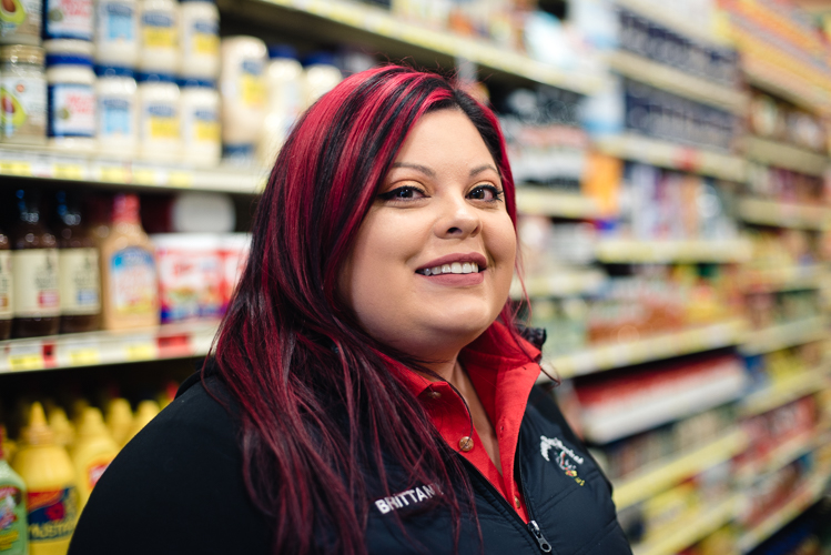 Brittany Barrios manages Honeybee Market in Southwest Detroit.