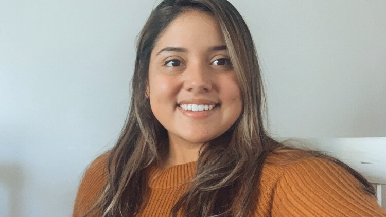 Liz Cruz works as a facilitator on the production floor at Herman Miller.