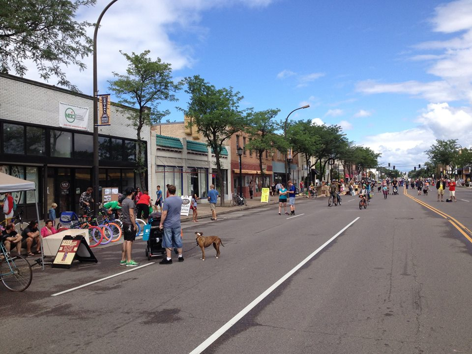 Open Streets event - Northeast Investment Cooperative