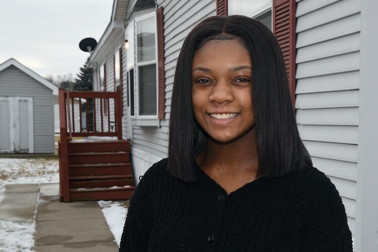 Dai'Mion Banks, a 2020 graduate of Battle Creek Central, is studying psychology and nursing at Grand Valley State University. She is a recipient of a scholarship through the W.K. Kellogg Foundation.