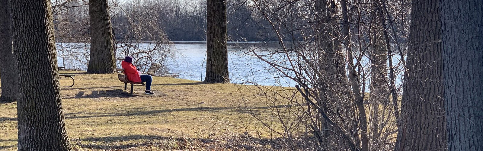 Nature at Riverside Park brings solace and comfort in difficult times.