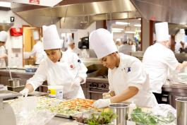 OTG Muskegon Culinary Institute students