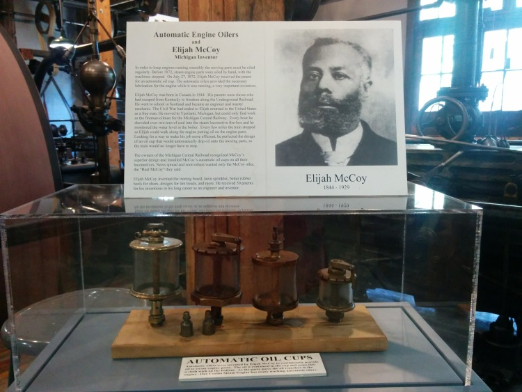 Elijah McCoy, whose parents escaped from slavery, invented the automatic engine oiler.