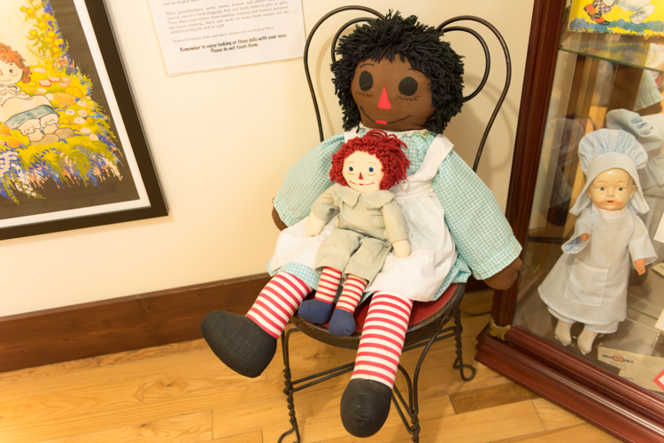 Raggedy Ann dolls made in Muskegon.