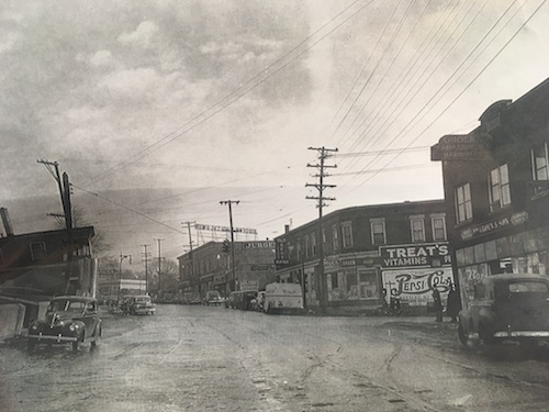 Intersection of Grandville Avenue & Clyde Park (1948)